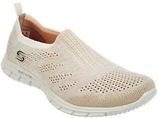 Skechers Flat Knit Slip-On Sneakers - Stunner $59.36 thestylecure.com