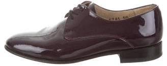 Dieppa Restrepo Patent Leather Lace-Up Oxfords