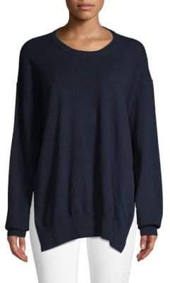 Dries Van Noten Open-Back Cashmere Sweater