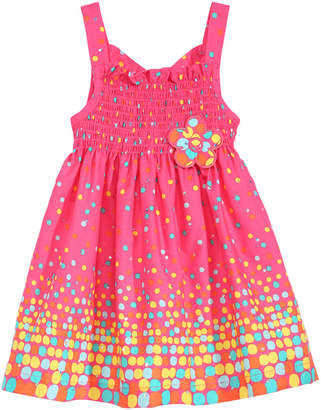 Blueberi Boulevard Baby Girls Boulevard Smocked Sundress