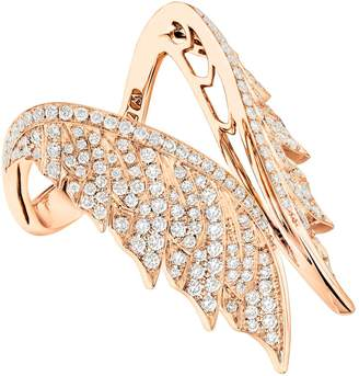 Stephen Webster Magnipheasant Pave Open Feather Ring