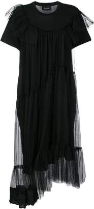 Simone Rocha gathered tulle shift dress