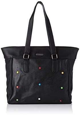 Little Marcel Women's DO21-LM-BLACK Shoulder Bag Black