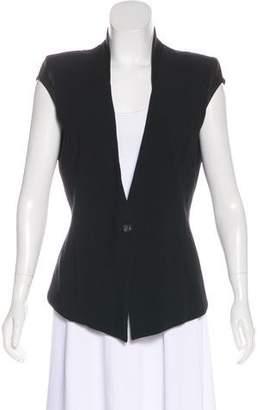 Helmut Lang Short-Sleeve Twill Vest