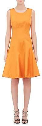 Zac Posen WOMEN'S DUCHESSE SATIN SLEEVELESS DRESS
