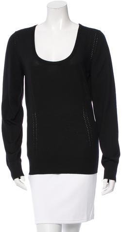 Dolce & GabbanaDolce & Gabbana Wool V-Neck Sweater