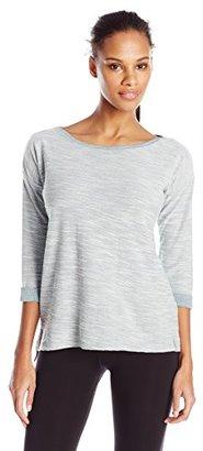 Columbia Women's Coastal Escape 3/4 Sleeve Shirt $45 thestylecure.com