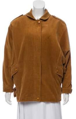 Ted Lapidus Corduroy Oversize Jacket