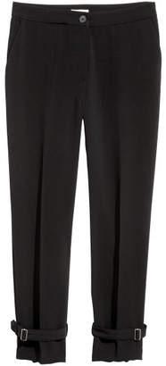H&M Wide-cut Pants - Black