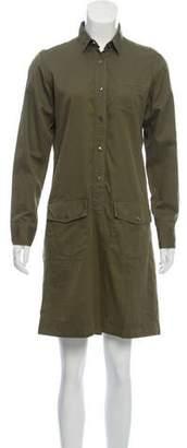 Tomas Maier Knee-Length Button-Up Dress