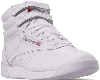 Reebok Women Freestyle High Top Casual Sneakers from Finish Line