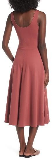 Women's Leith Stretch Knit Midi Dress 4