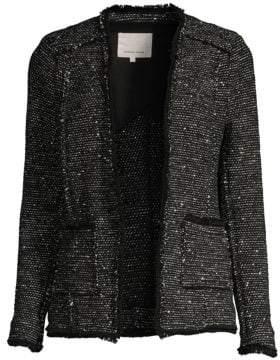 Rebecca Taylor Sparkle Tweed Jacket