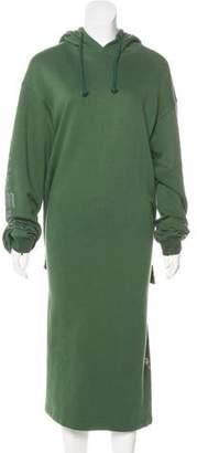 Vetements 2016 Wrap Hoodie Dress