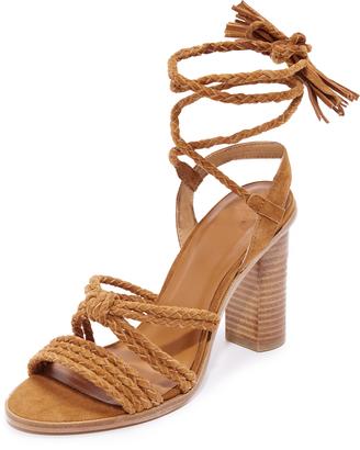 Joie Banji Wrap Sandals $298 thestylecure.com