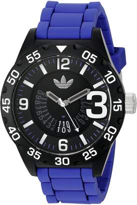 adidas Men's 'Newburgh' Quartz Blue Casual Watch (Model: ADH3112)