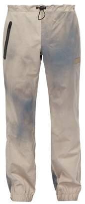 PAM Wave Dye Waterproof Track Pants - Mens - Silver