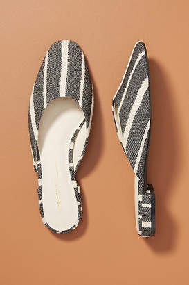 Intentionally Blank Striped Flats