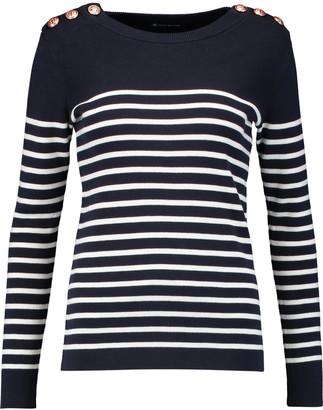 Petit Bateau Striped cotton sweater $129 thestylecure.com
