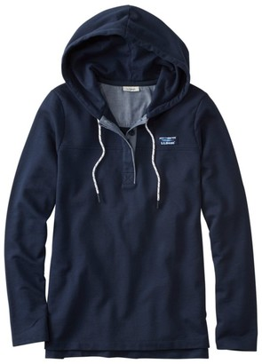 L.L. Bean L.L.Bean Women's Soft Cotton Rugby, Hoodie Pullover