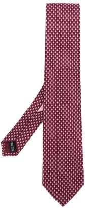 Salvatore Ferragamo ladybird print tie