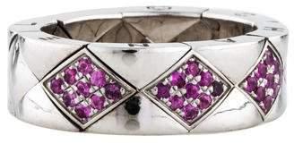 Chanel 18K Sapphire Matelassé Ring