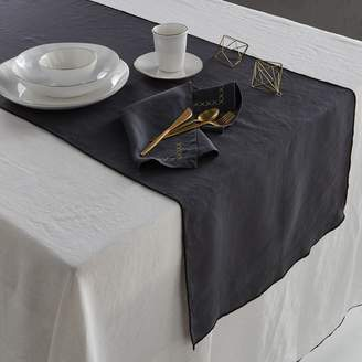 Am.pm. Taraka Pre-Washed Linen Table Runner