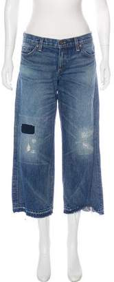 Simon Miller Mid-Rise Cropped Jeans
