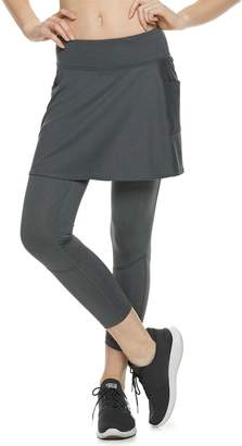 Tek Gear Women's Performance Side Pocket Skirted Leggings