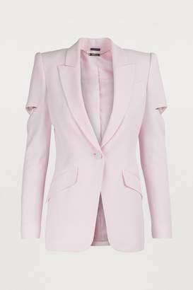 Alexander McQueen Slash sleeves jacket