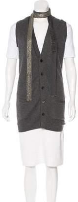 Robert Rodriguez Cashmere Knit Vest