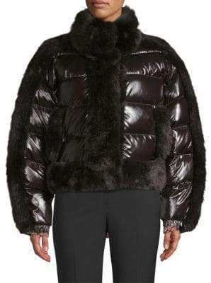 Opening Ceremony Daydreamer Faux-Fur Puffer Jacket