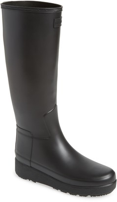 Hunter Refined Creeper Tall Rain Boot