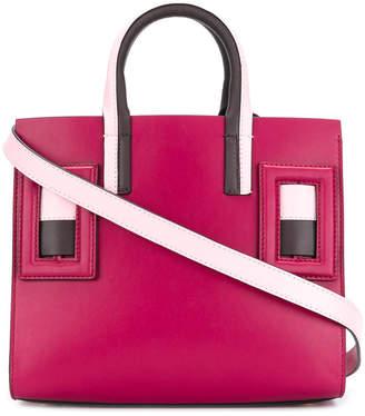 Marni geometric embellished tote bag