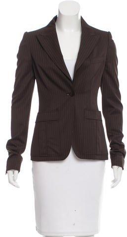 GucciGucci Pinstripe Wool Blazer