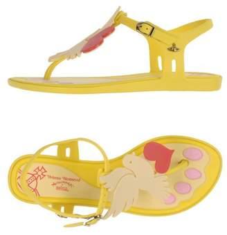 Vivienne Westwood + MELISSA Toe post sandal