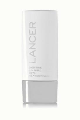 Lancer - Sheer Fluid Sun Shield Spf30, 60ml - Colorless $55 thestylecure.com