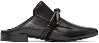 3.1 Phillip Lim Black Friendship Knot Louie Loafers $495 thestylecure.com
