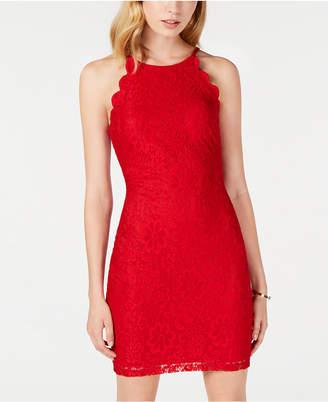BCX Juniors' Lace Bodycon Dress