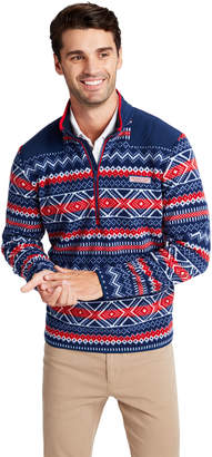 Vineyard Vines Fair Isle Fleece Shep Shirt