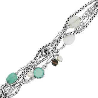 One Kings Lane Vintage Sterling Silver Multi Strand Bracelet - Raymond Lee Jewelers