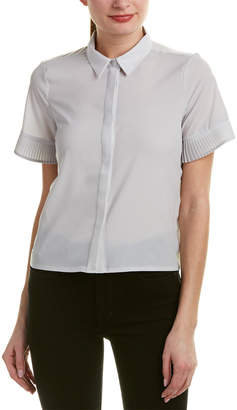French Connection Poly Plains Shirt