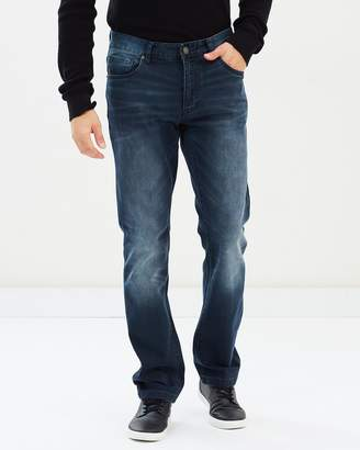 TAROCASH Marrickville Tapered Stretch Jeans