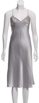 Blumarine Sleeveless Midi Slip Dress