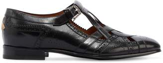 Gucci Thesis Cut Out Leather Loafers