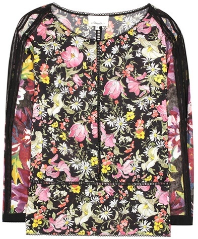 3.1 Phillip Lim 3.1 Phillip Lim Pai printed silk top