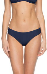 Becca Loreto Ribbed Bikini Bottoms