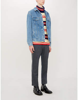 fd88d5b41 Gucci Men's Denim Jackets - ShopStyle