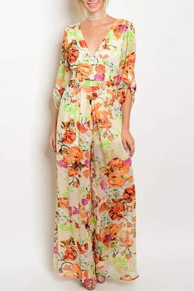 eaa4f6a22e34 Floral Jumpsuit - ShopStyle Canada