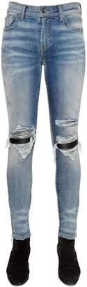 Amiri Skinny Medium Washed Denim Jeans